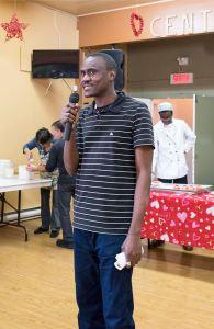 Abdou Bousso, directeur, lors d'un récent dîner de l'amitié de la Cuisine collective - ©StéphaneQuintin
