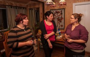 Apprendre à briser la glace... Cela permet de faire des rencontres agréables et permet aux nouveaux arrivants de faire leur place au sein de la communauté matanienne!