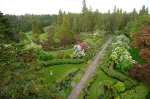 L'Allée royale des Jardins de Métis. Crédit photo: Louis Tanguay
