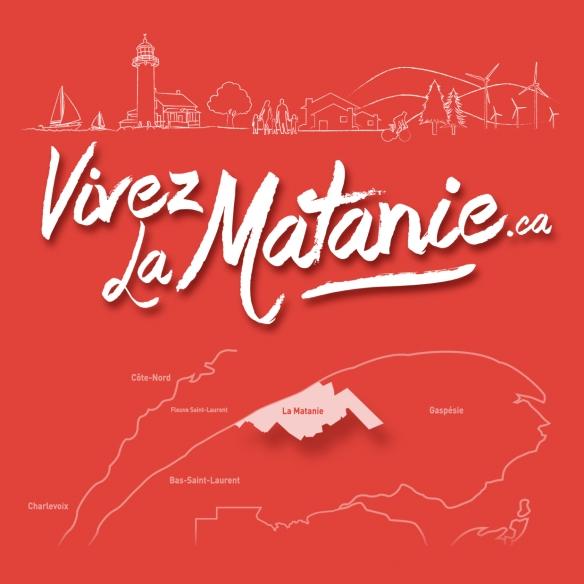 Vivez La Matanie_autocollant