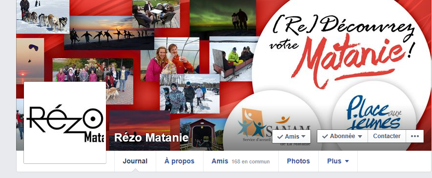Rézo Matanie, c'est aussi une page Facebook. Devenez ami(e)!