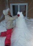 Premier bonhomme de neige