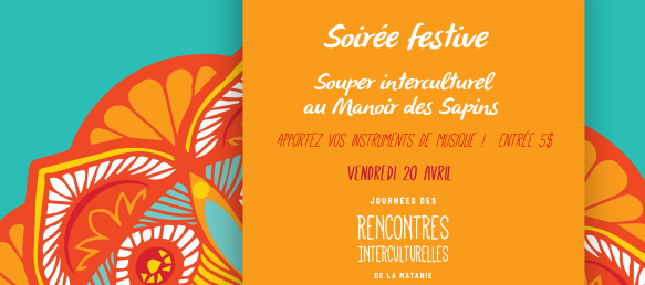 Affiche SOUPER INTERCULTUREL