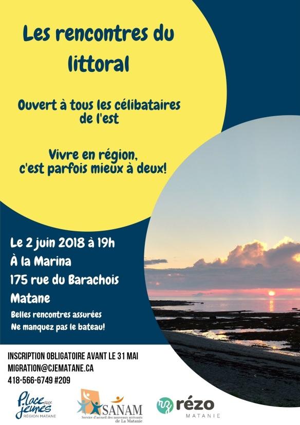 AFFICHE FINALE _ Rencontres du littoral 2 juin 2018