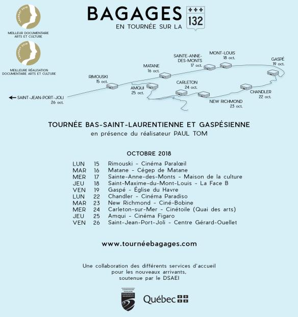 Bagages BSL-Gaspesie 2 gemeaux
